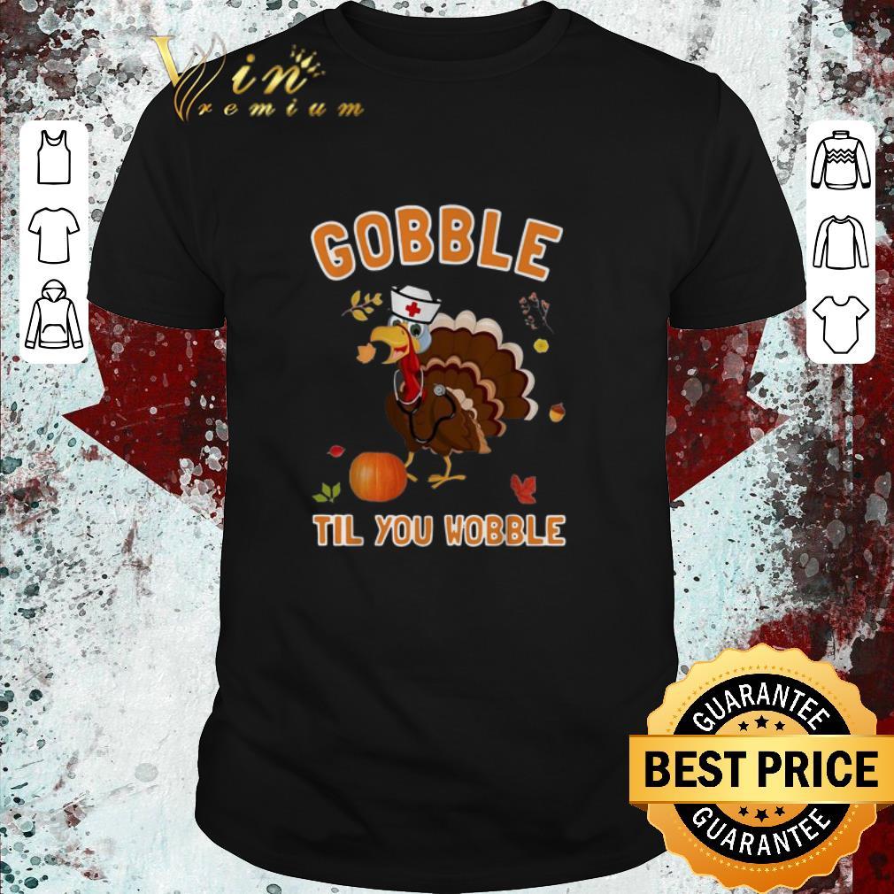 Hot Turkey Chicken Gobble Til You Wobble Thanksgiving Shirt 1 1.jpg
