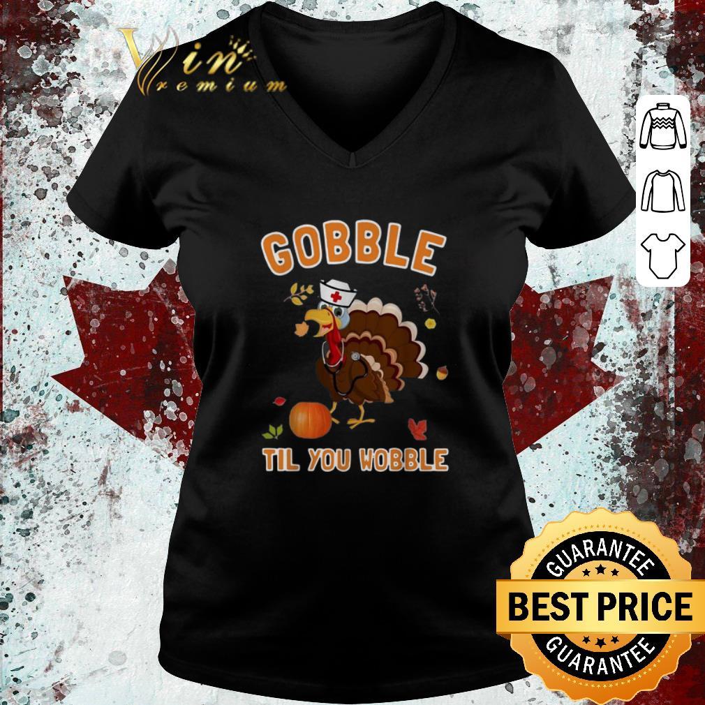 Hot Turkey Chicken Gobble Til You Wobble Thanksgiving Shirt 3 1.jpg