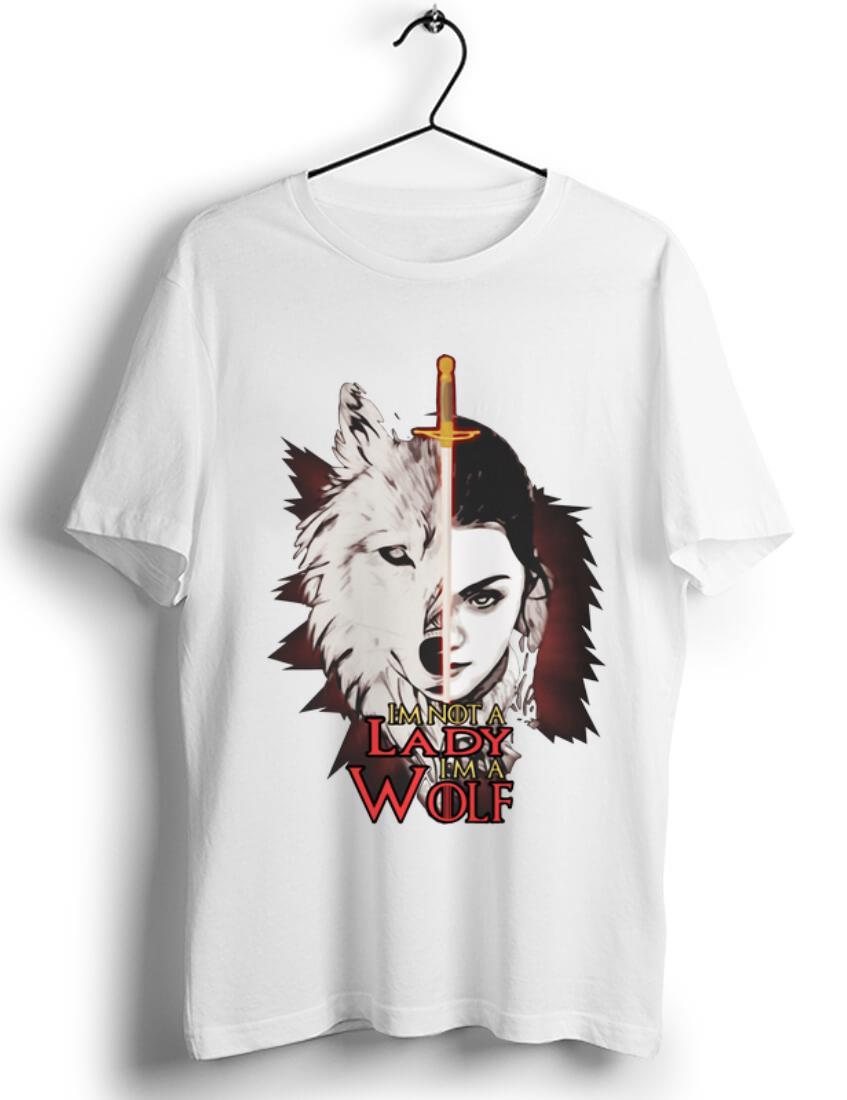 Nice Game Of Thrones I M Not A Lady I M A Wolf Arya Stark Shirt 1 1.jpg