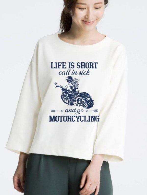 Nice Life Is Short Call In Side And Go Motorcycling Shirt 3 1.jpg