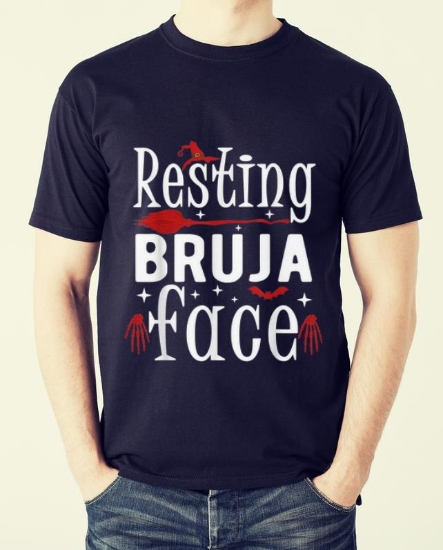 Nice Resting Bruja Face Bad And Bruja Funny Halloween Witch Women Shirt 2 1.jpg