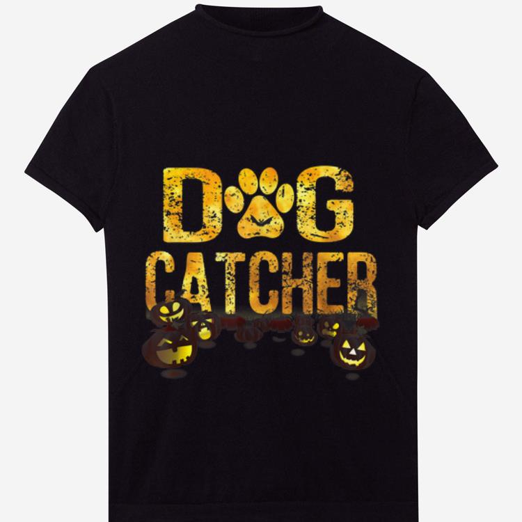 Nice Scary Halloween Dog Catcher Costume Dog Lovers Shirt 1 1.jpg