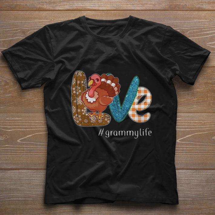 Nice Thanksgiving Love Grammylife Turkey Chicken Shirt 1 1.jpg