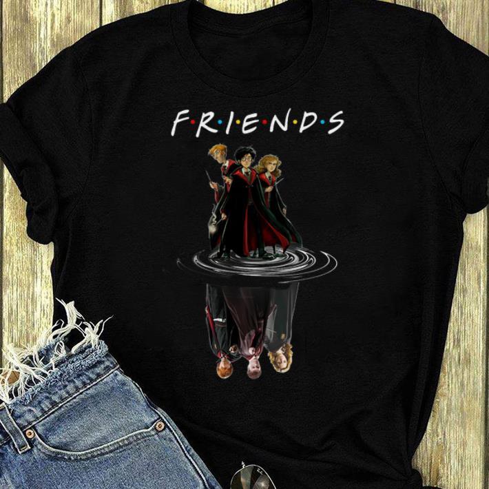 Official Harry Potter Cartoon Friends Water Reflection shirt