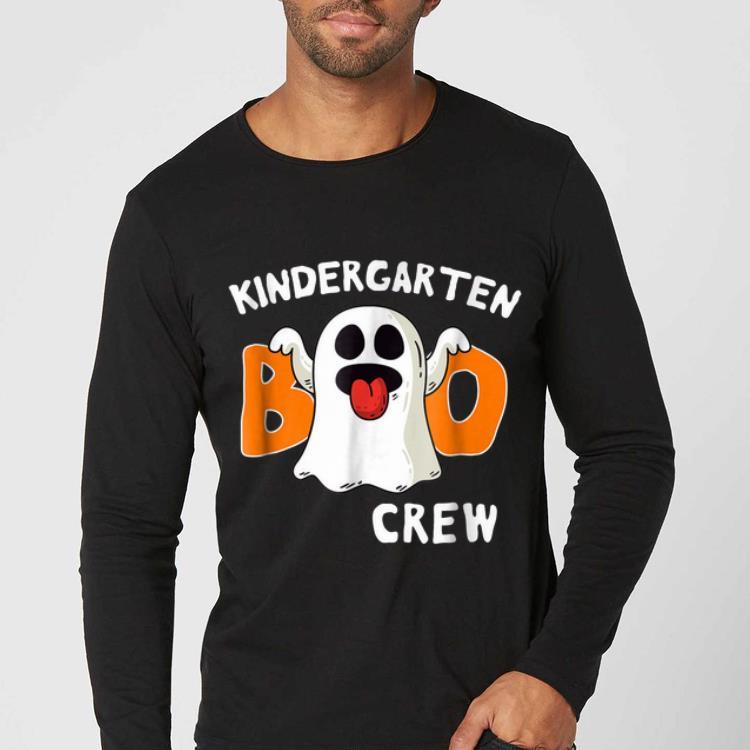 Official Kindergarten Halloween Boo Crew Ghost Tee shirt