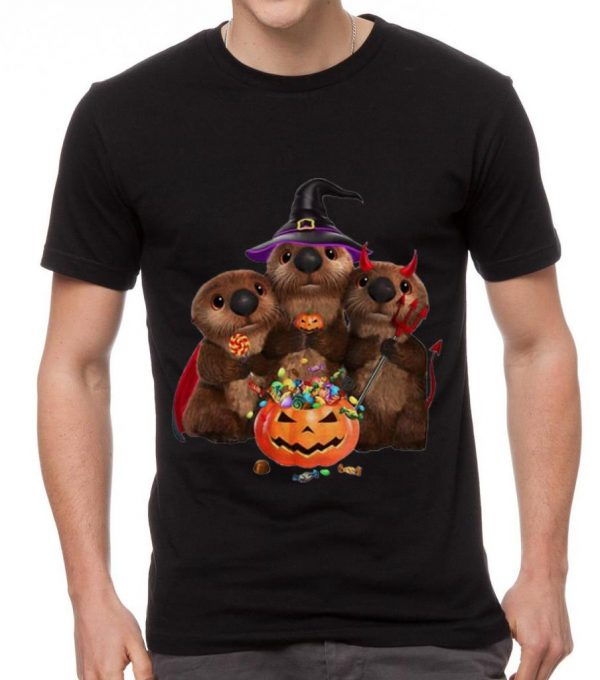 Official Otters Pumpkin Halloween Witch And Devil Otters Shirt 2 1.jpg