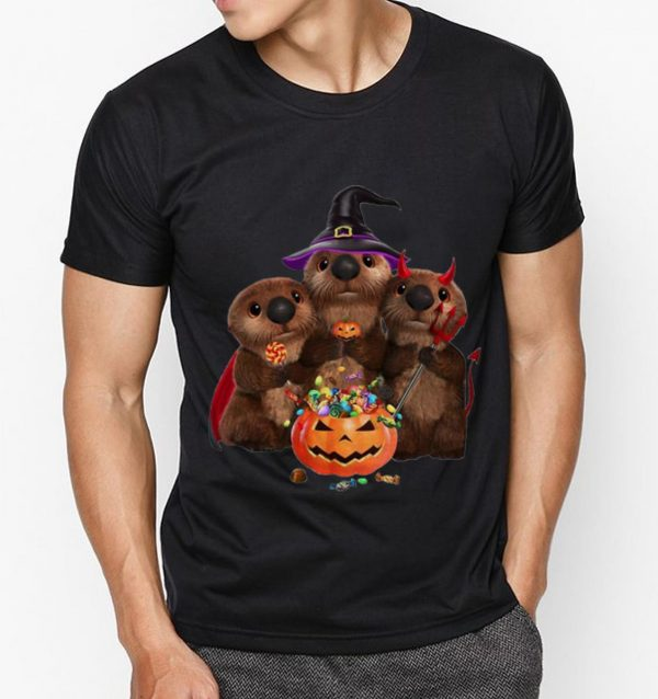 Official Otters Pumpkin Halloween Witch And Devil Otters Shirt 3 1.jpg