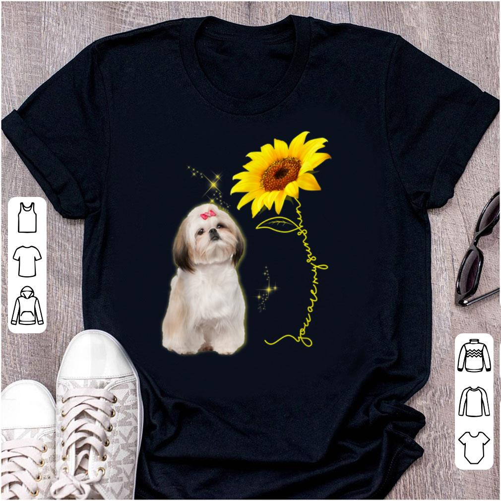 Official You Are My Sunshine Sunflower Shih Tzu Shirt 1 1.jpg