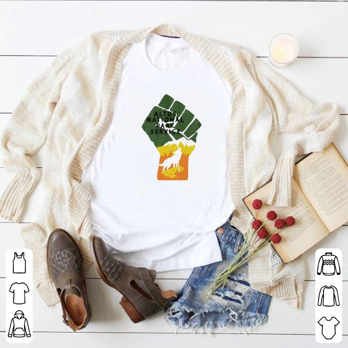 Original Altus National Park Service shirt