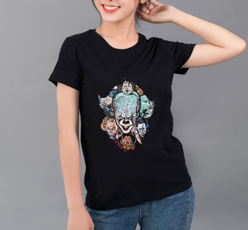 Original Face Of Pennywise Horror Character Movie shirt