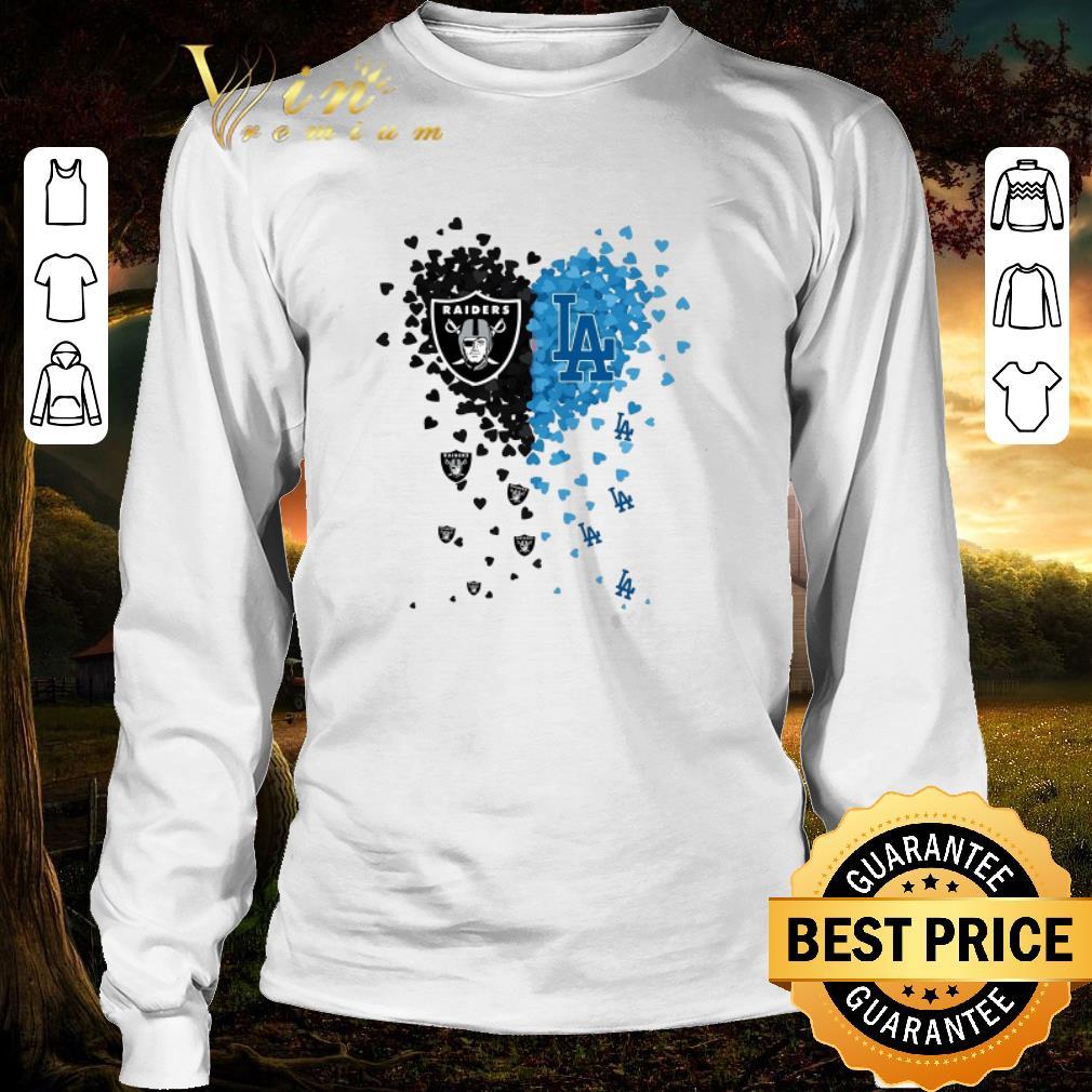 Original I Love Oakland Raiders Los Angeles Dodgers Shirt 3 1.jpg