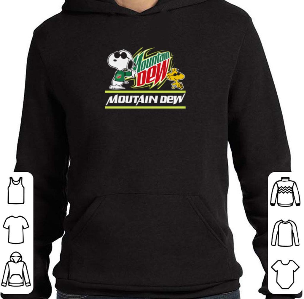 Original Snoopy Woodstock Mountain Dew Peanuts shirt