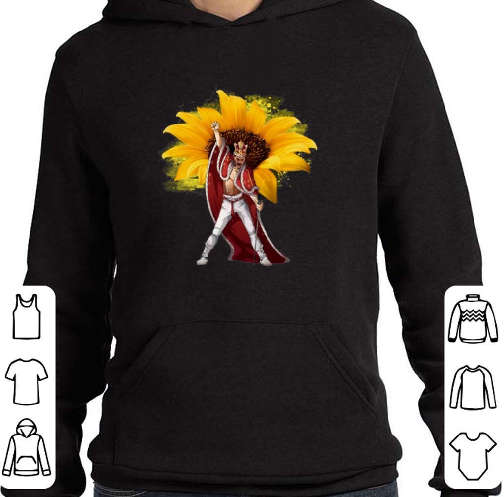 Original Sunflower Freddie Mercury The King Of Queen shirt