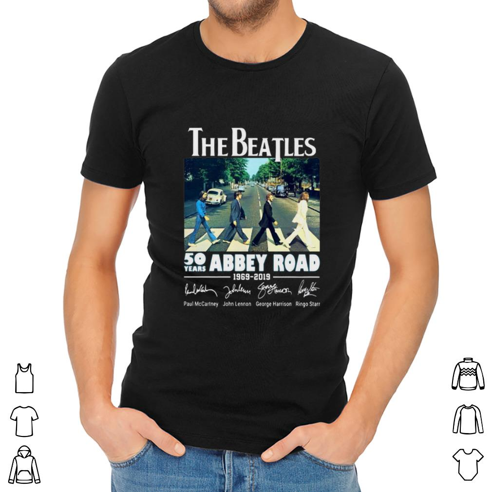 Premium 50 Years Abbey Road The Beatles 1969 2019 Signature Shirt 2 1.jpg