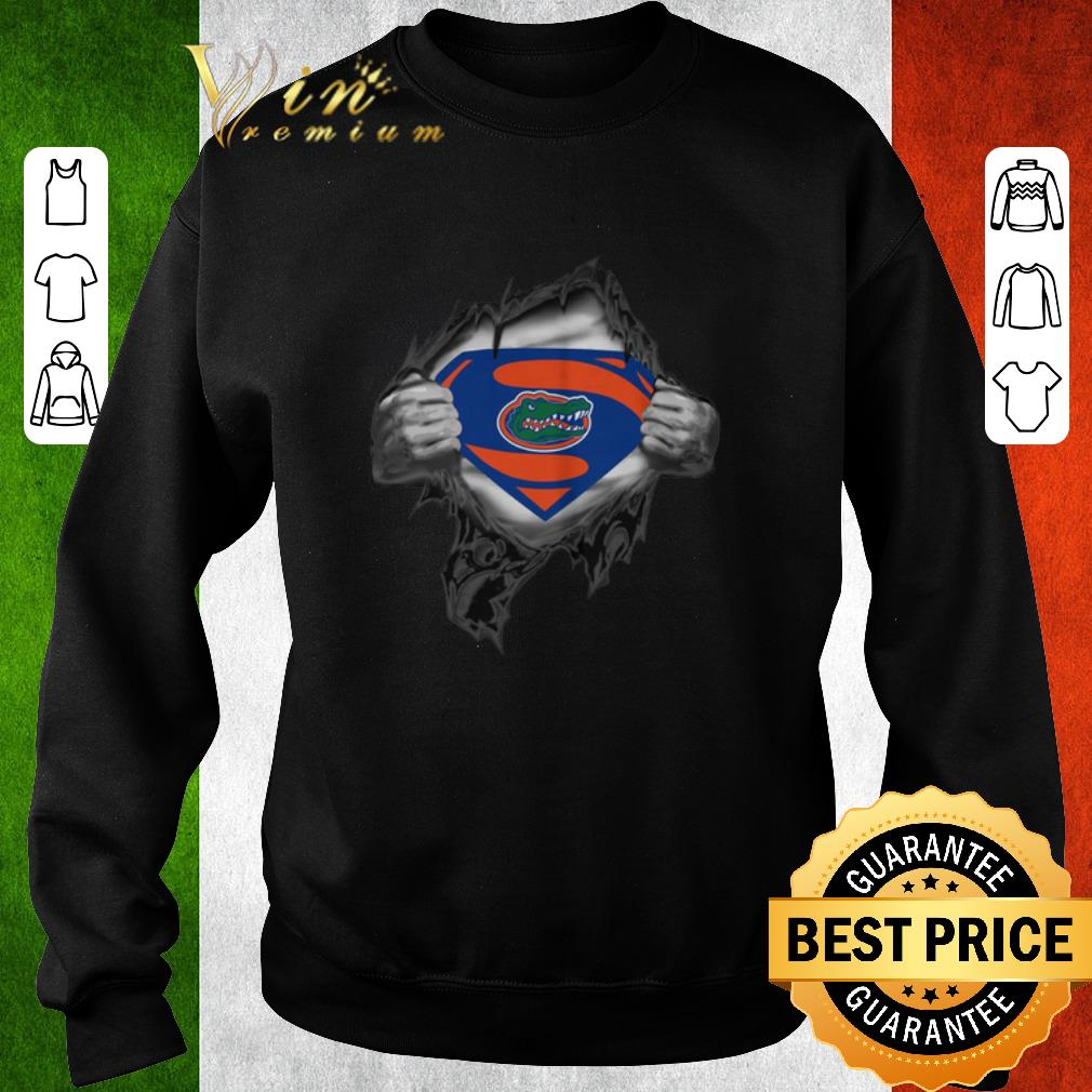 Premium Florida Gators inside me Superman logo shirt