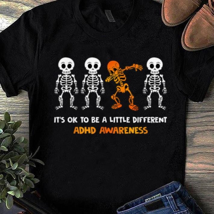 Premium It S Ok To Be Little Different Adhd Awareness Shirt 1 1.jpg