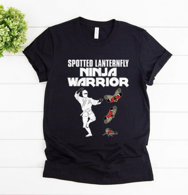 Premium Spotted Lanternfly Ninja Warrior Insects Shirt 1 1.jpg