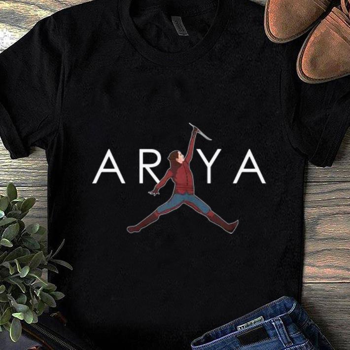 Pretty Arya Stark Jumpman Game Of Thrones Shirt 1 1.jpg