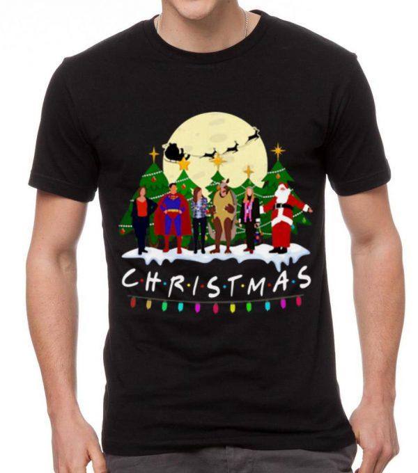 Pretty Friends Characters Superman Santa Claus Christmas Shirt 2 1.jpg