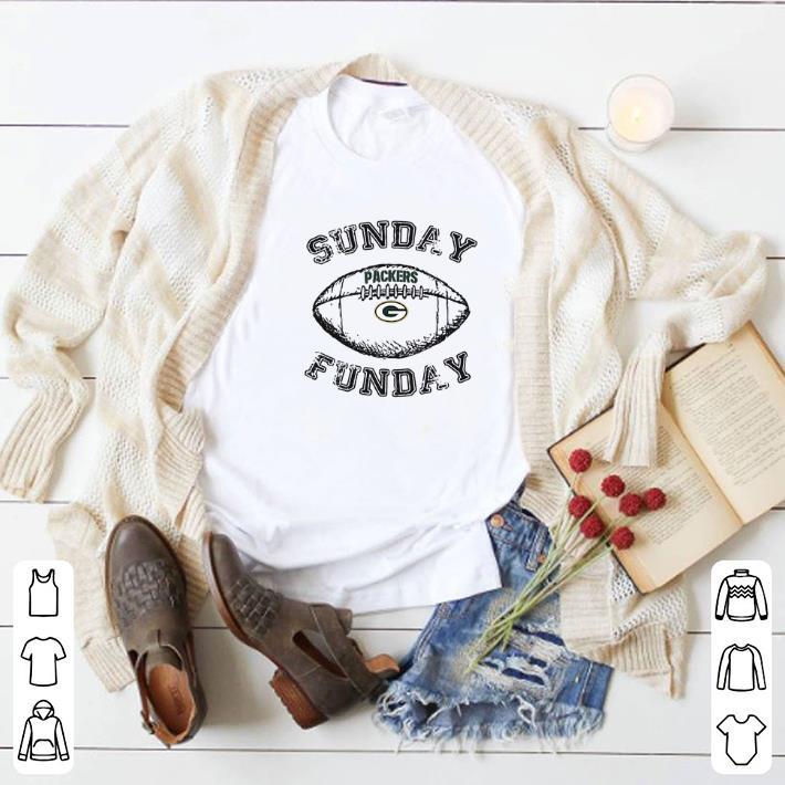 Pretty Green Bay Packers Sunday Funday shirt