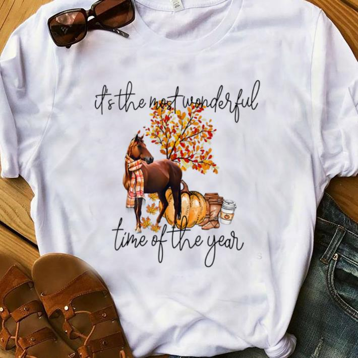 Pretty Horse It S The Most Wonderful Time Of The Year Shirt 1 1.jpg
