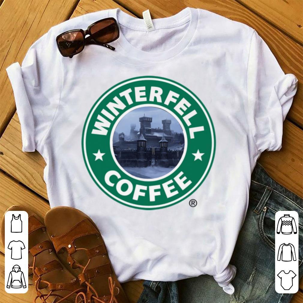 Pretty Starbucks Coffee Game Of Thrones Winterfell Shirt 1 1.jpg