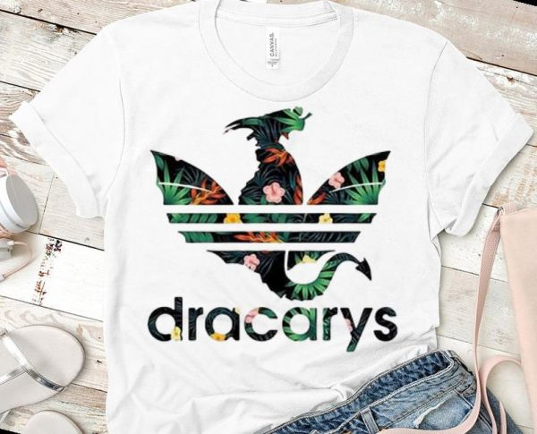 Top Dracarys Dragon Game Of Thrones Adidas Floral Shirt 1 1.jpg
