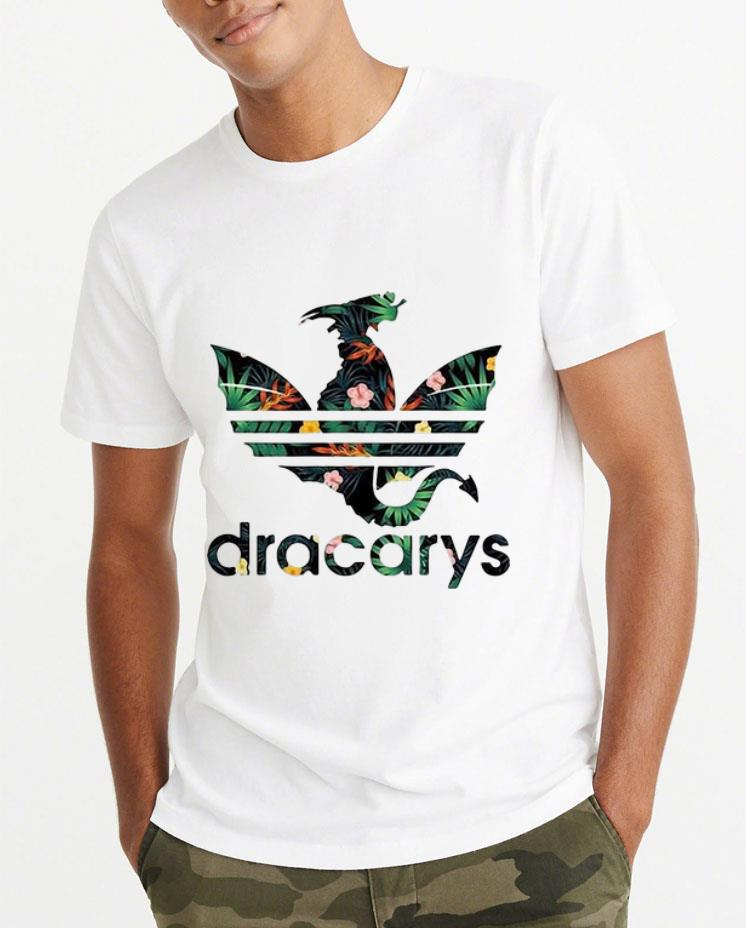 Top Dracarys Dragon Game Of Thrones Adidas floral shirt