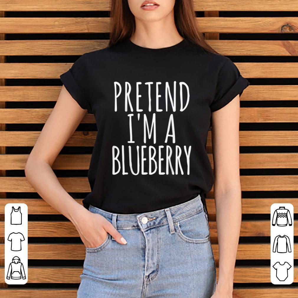 Top Lazy Halloween Pretend I M A Blueberry Gift Womens Men Shirt 3 1.jpg