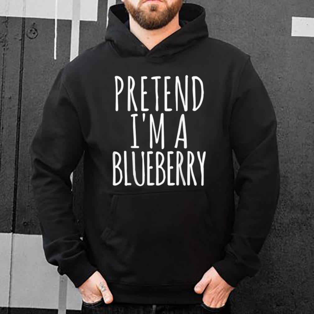 Top Lazy Halloween PRETEND I'M A BLUEBERRY Gift Womens Men shirt