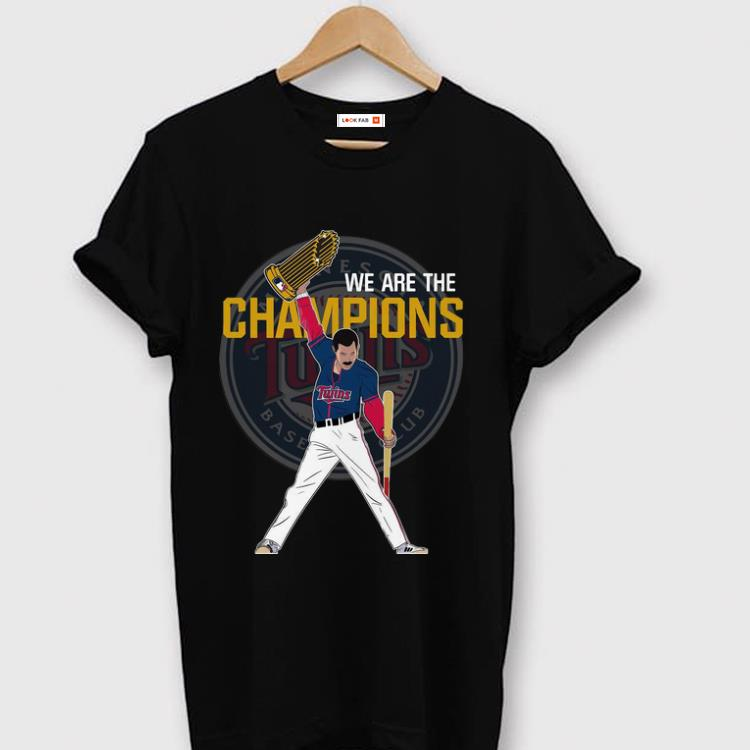Top Minnesota Twins We Are The Champions shirt