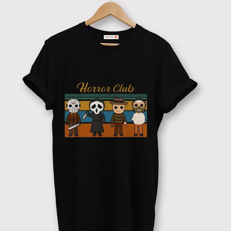 Top Vintage Horror Club Horror Character Halloween Shirt 1 1.jpg