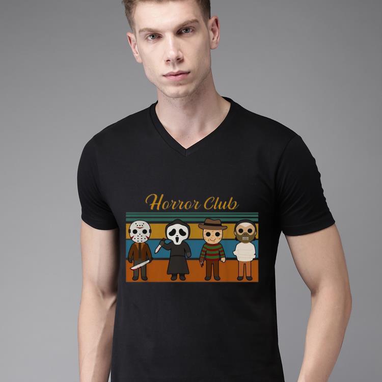 Top Vintage Horror Club Horror Character Halloween Shirt 2 1.jpg