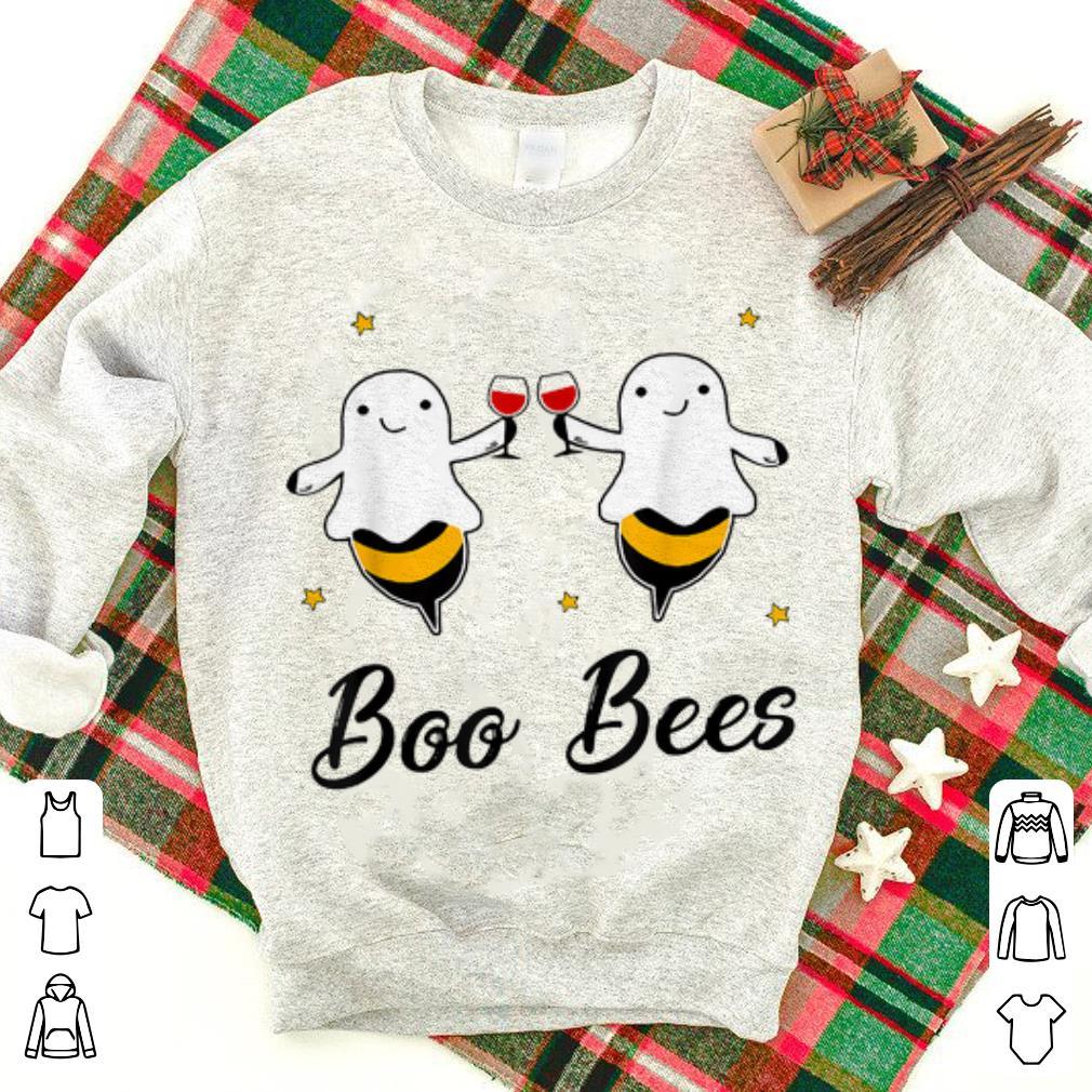 Top Wine Boo Bees Couples Halloween Shirt 1 1.jpg
