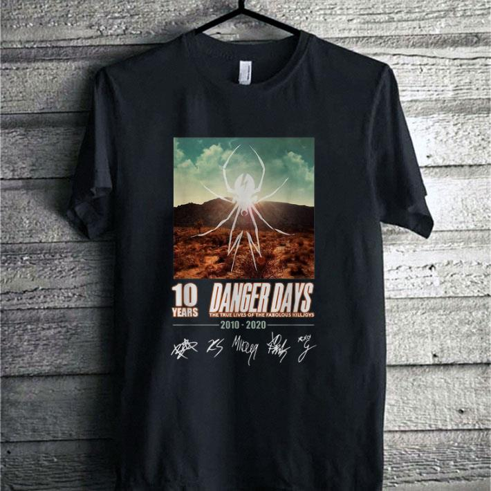 Awesome 10 Years Danger Days The True Lives Of The Fabulous Killjoys Shirt 1 1.jpg