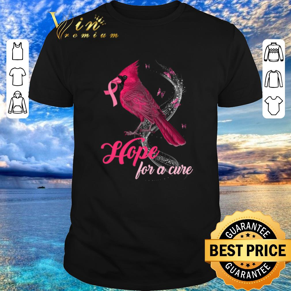 Awesome Breast Cancer Awareness Cardinal Bird Hope For A Cure Shirt 1 1.jpg
