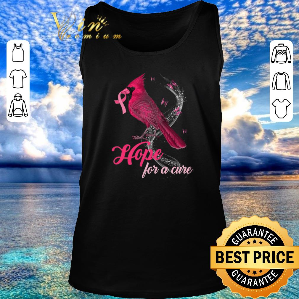 Awesome Breast Cancer Awareness Cardinal Bird Hope For A Cure Shirt 2 1.jpg