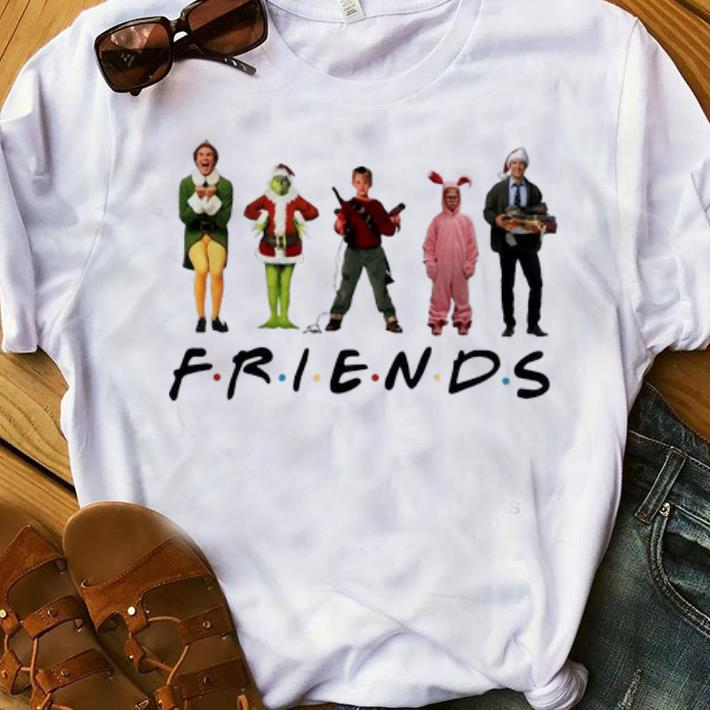 Awesome Christmas Characters Elf Grinch Kevin Friends Shirt 1 1.jpg