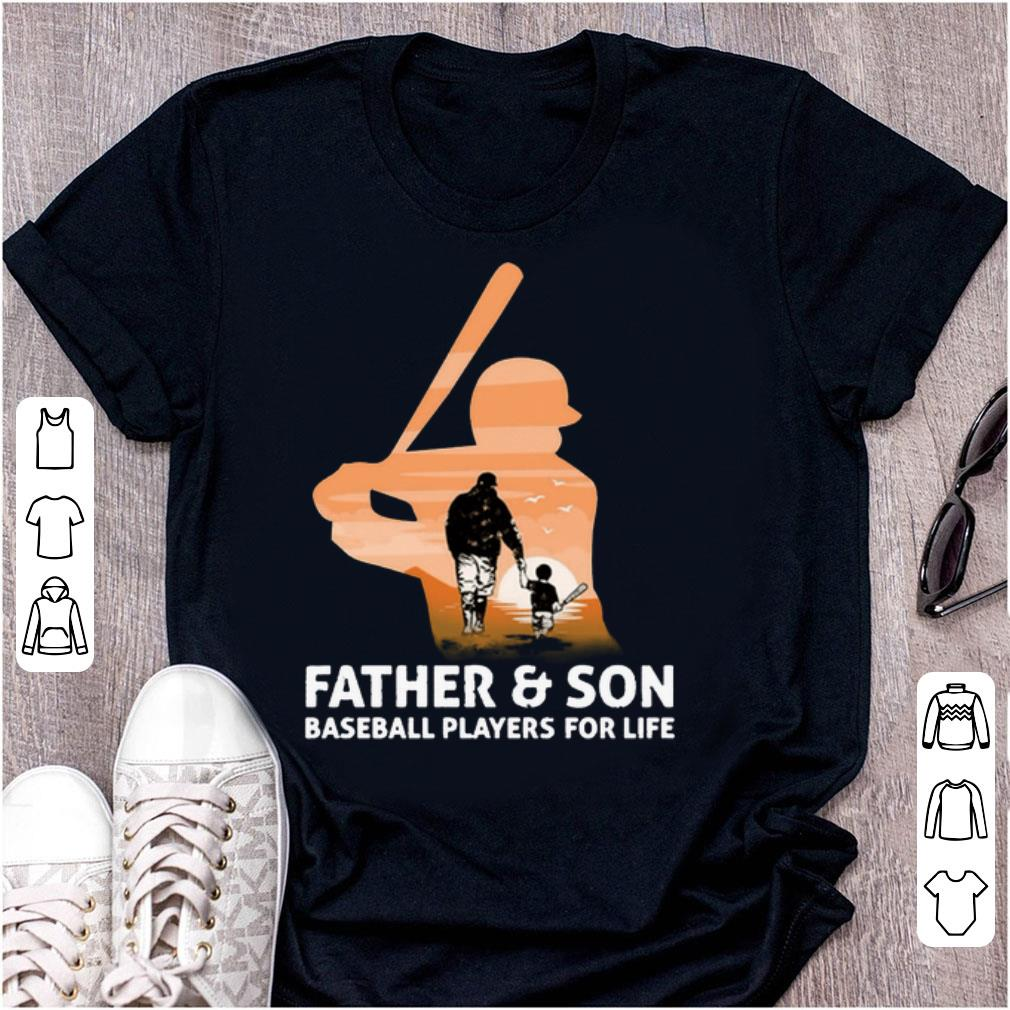 Awesome Father Son Baseball Players For Life Shirt 1 1.jpg