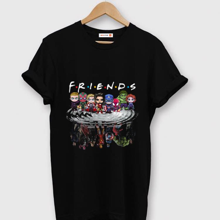 Awesome Friends Avengers Chibi Characters Water Reflection Shirt 1 1.jpg