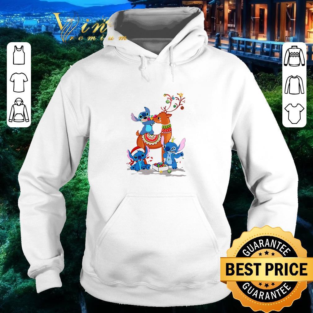 Awesome Stitch Reindeer Christmas shirt