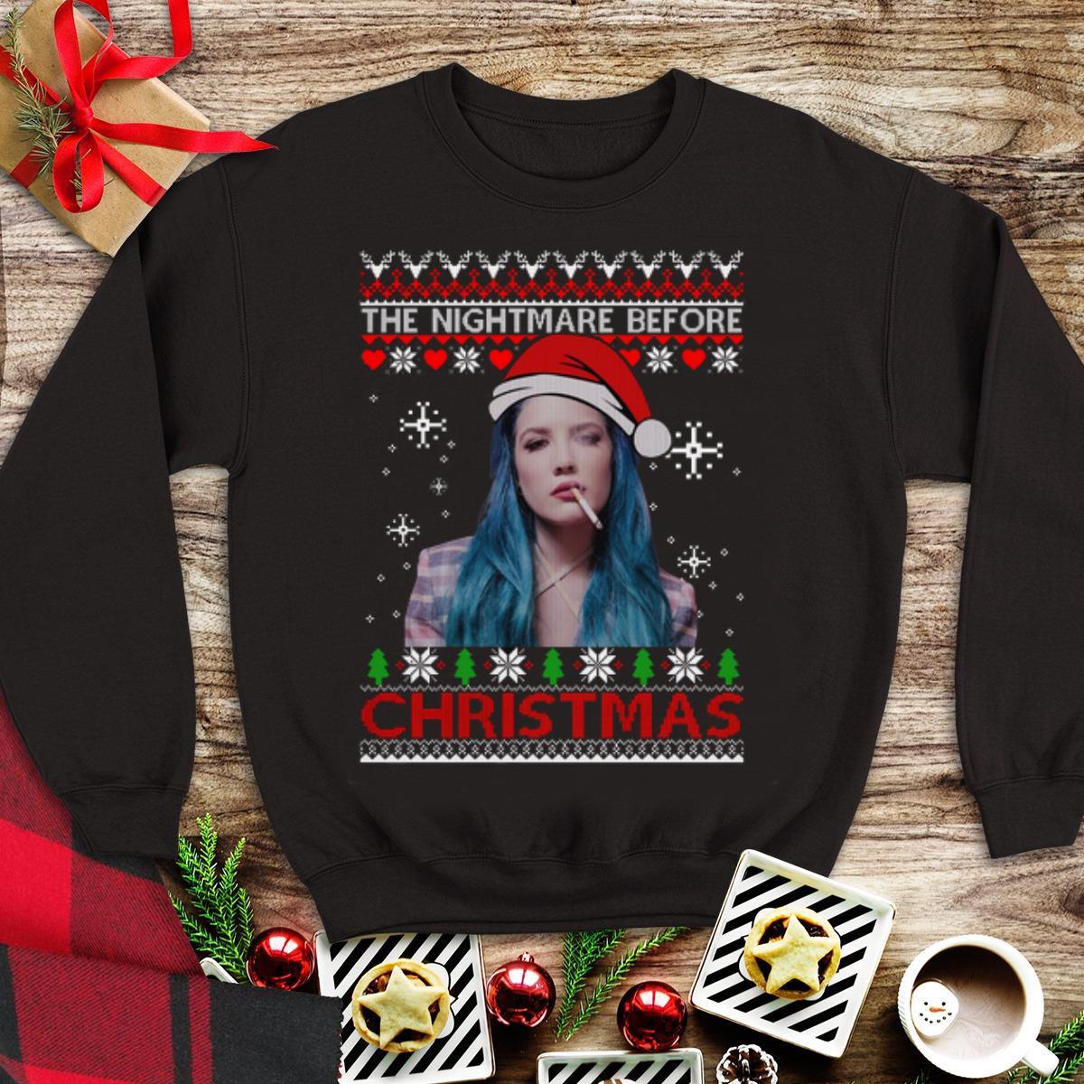 Awesome Ugly Christmas Halsey The Nightmare Before Shirt 1 1.jpg