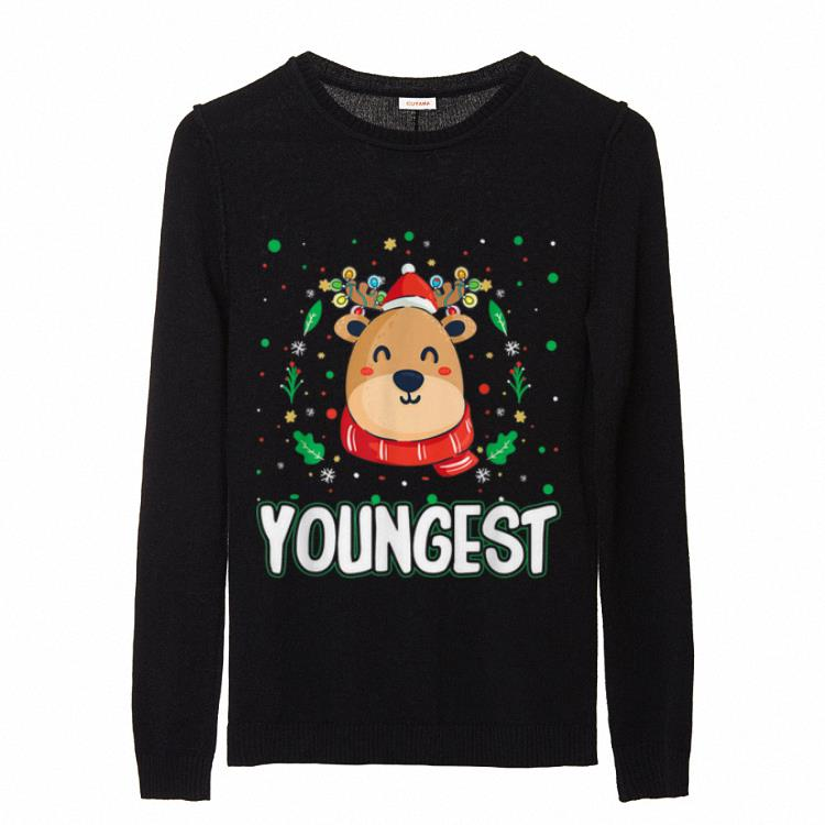 Cute Youngest Reindeer Santa Ugly Christmas Family Matching Sweater 2 1.jpg