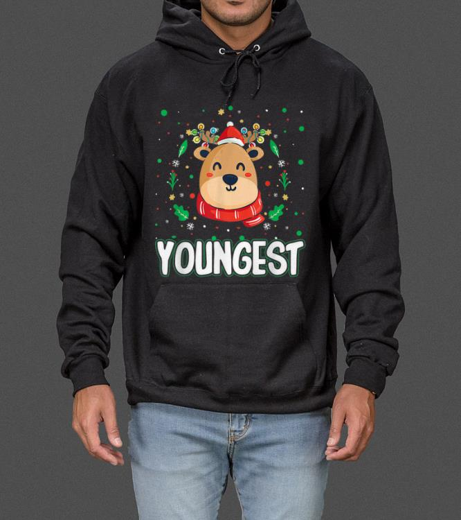 Cute Youngest Reindeer Santa Ugly Christmas Family Matching sweater