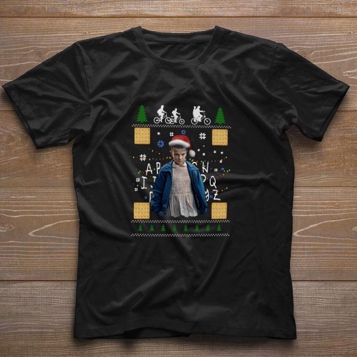 Funny Eleven Stranger Things Ugly Christmas Shirt 1 1.jpg