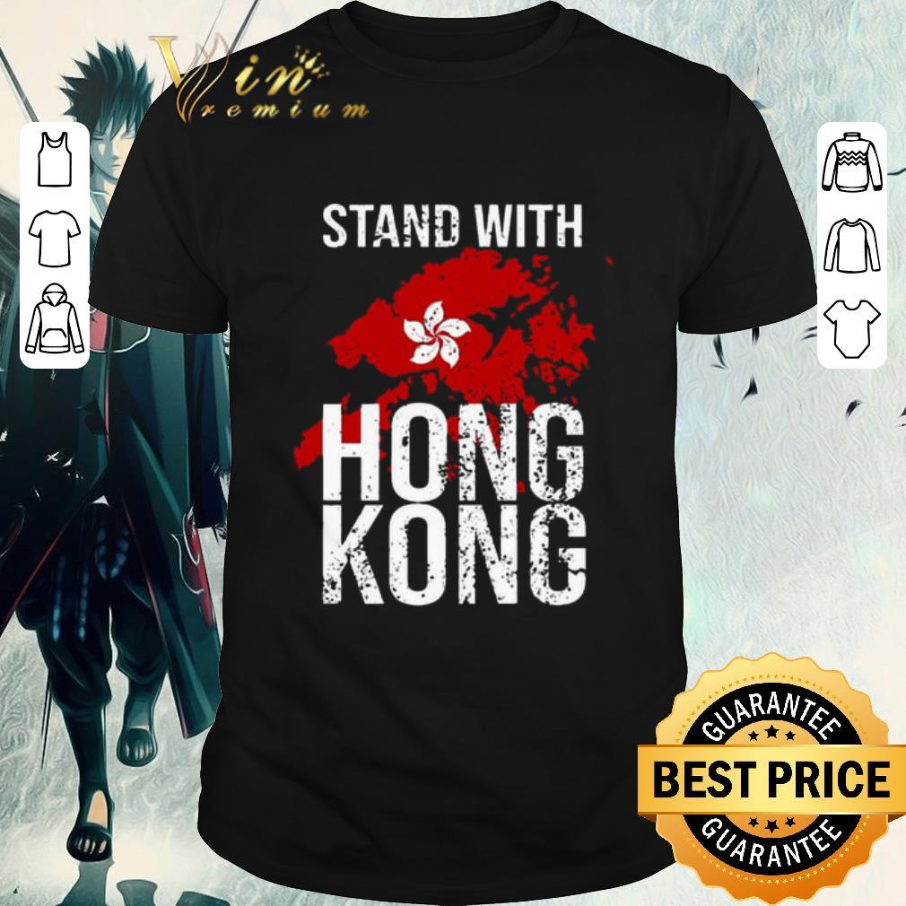 Funny Stand With Hong Kong Maps Flag Shirt 1 1.jpg