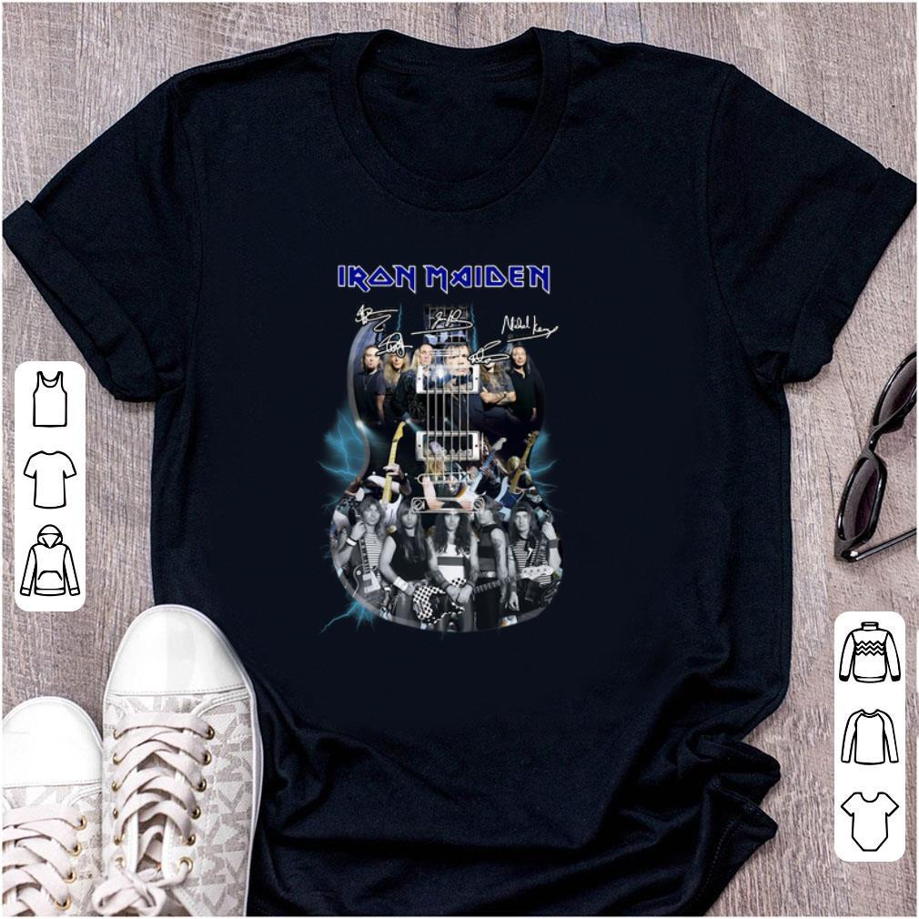 Great Iron Maiden Guitar Signatures Shirt 1 1.jpg