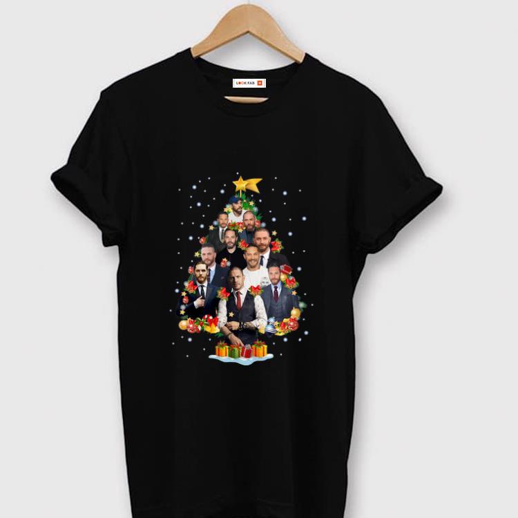 Great Tom Hardy Christmas Tree Merry Xmas Shirt 1 1.jpg