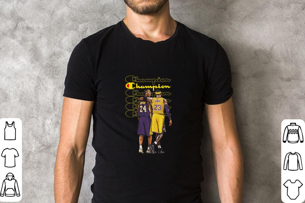 Hot Champion Kobe Bryant And Lebron James Shirt 2 1.jpg
