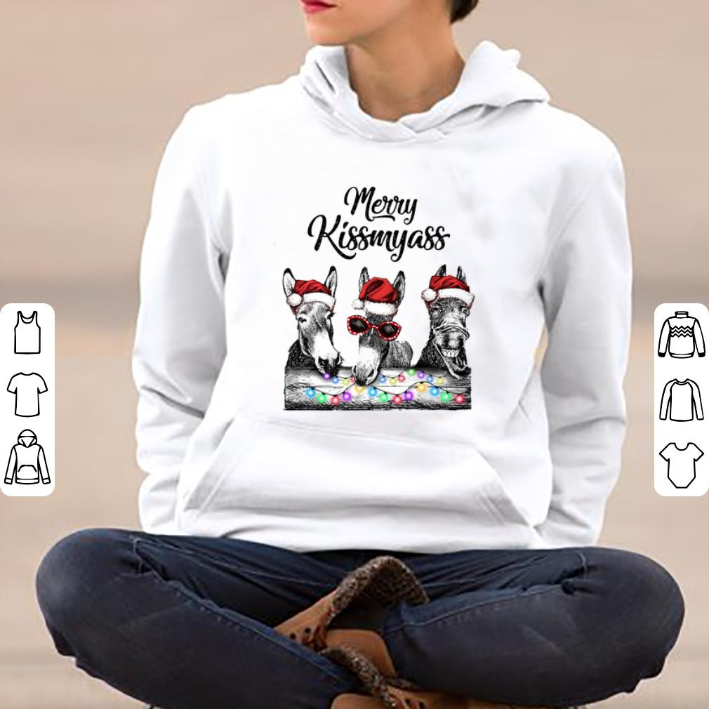 Hot Donkeys Merry Kissmyass shirt